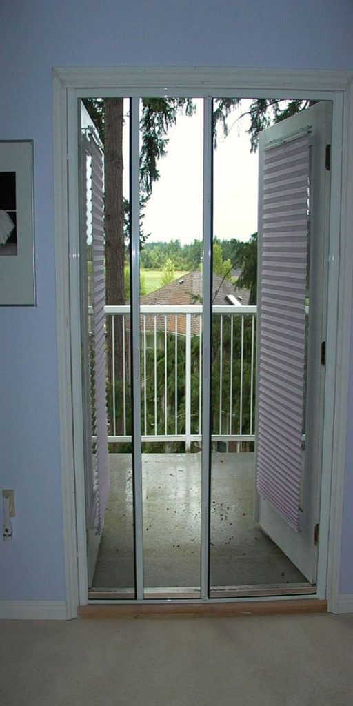 Retractable French Door Screens – Now Open Up Your Doors!