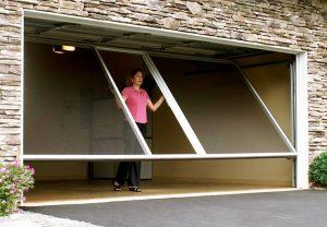 Opening Up With Retractable Garage Screen Doors